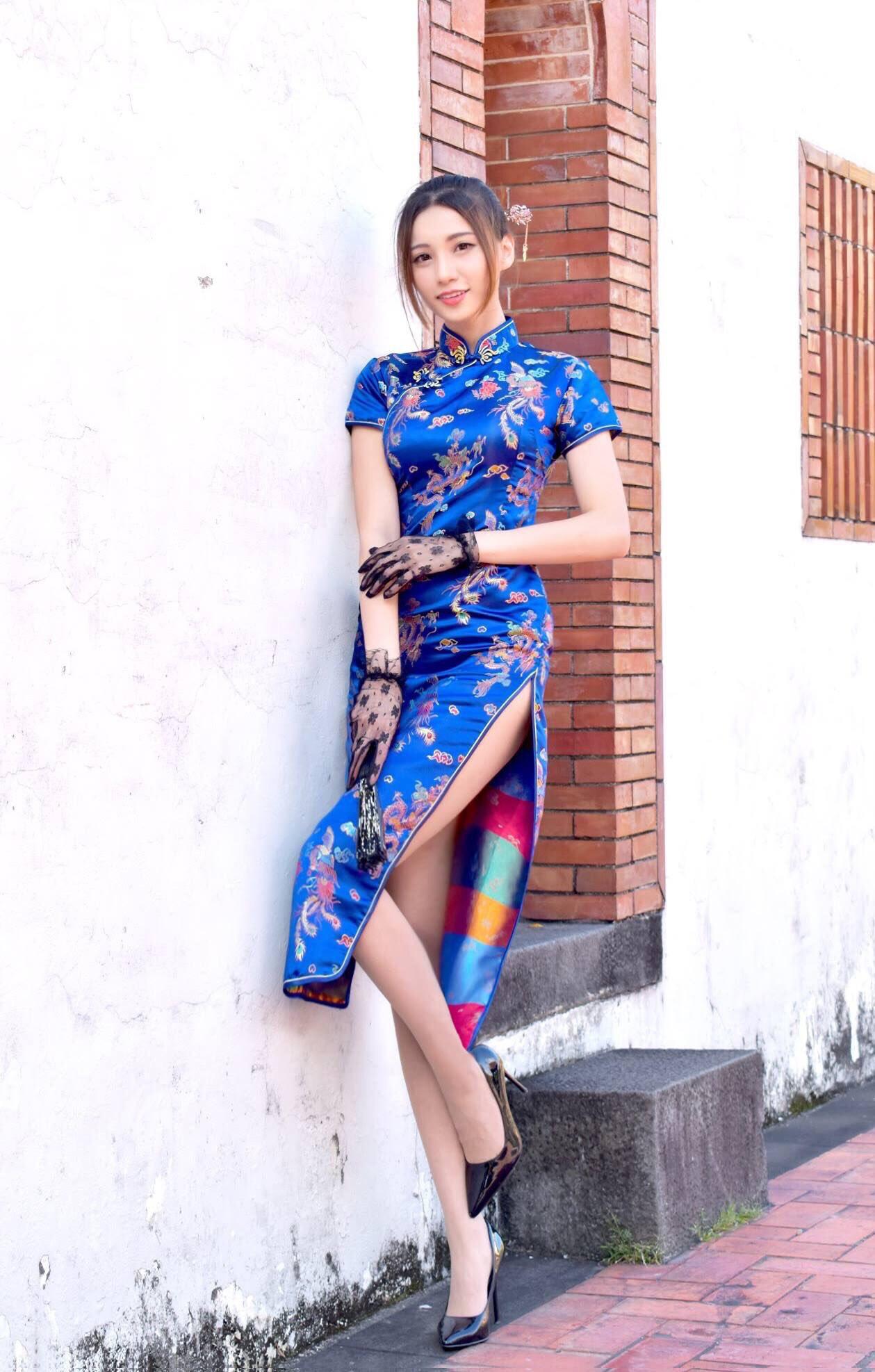 Candice蔡译心の美脚 12