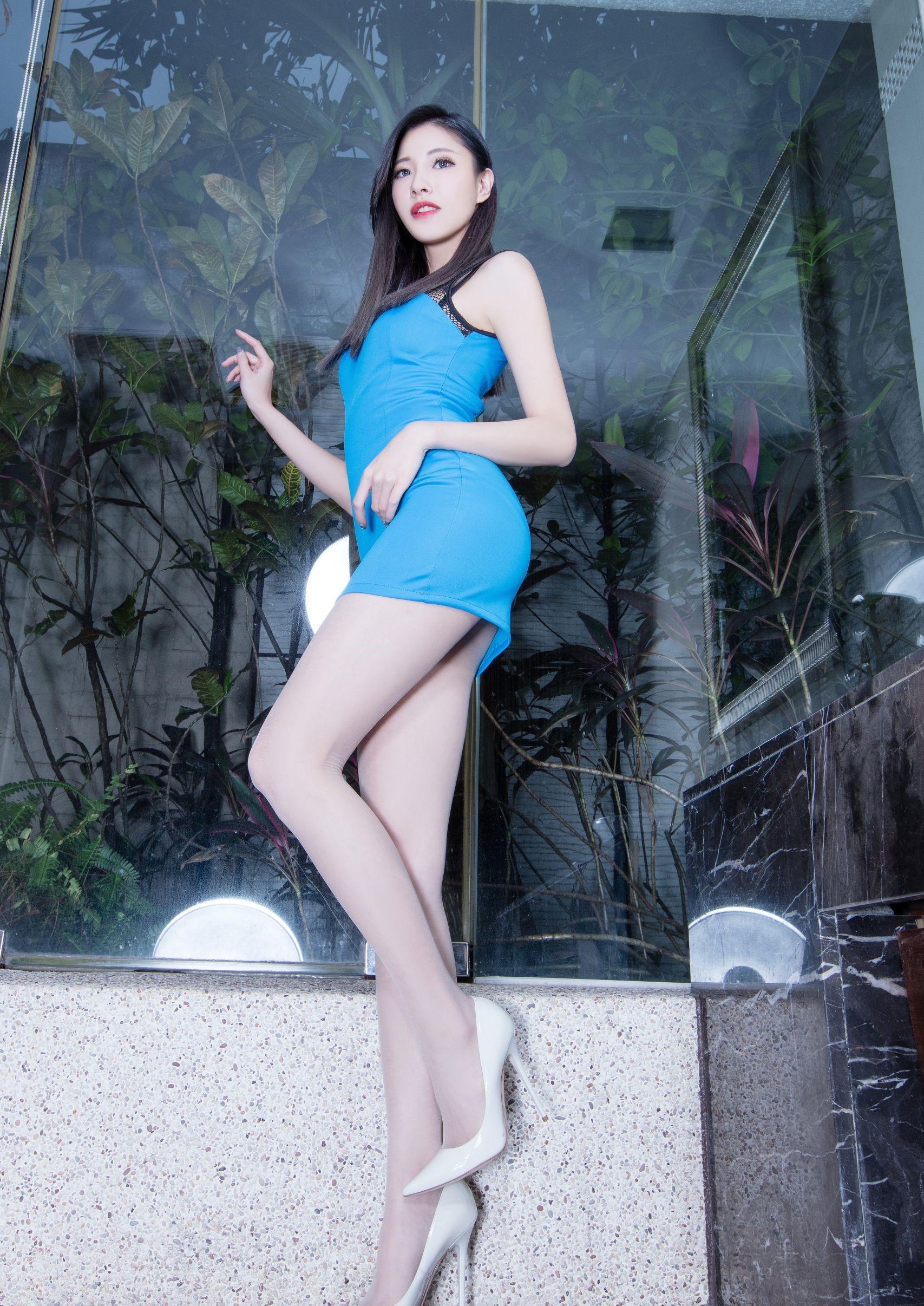 台湾の美脚モデルAbby 2