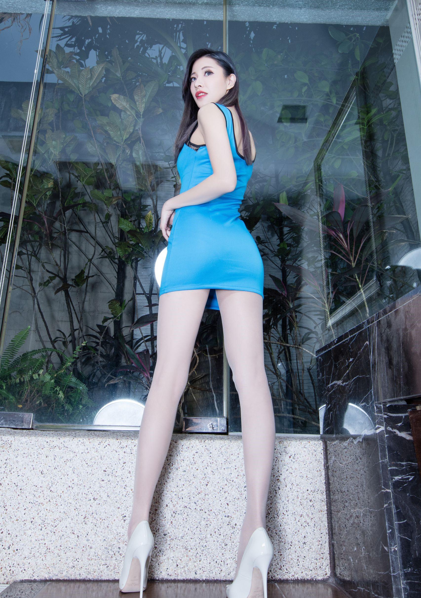 台湾の美脚モデルAbby 4