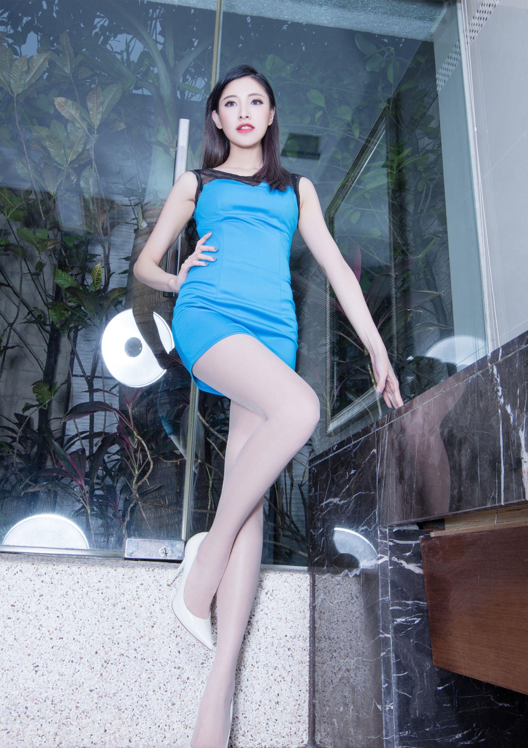 台湾の美脚モデルAbby 7