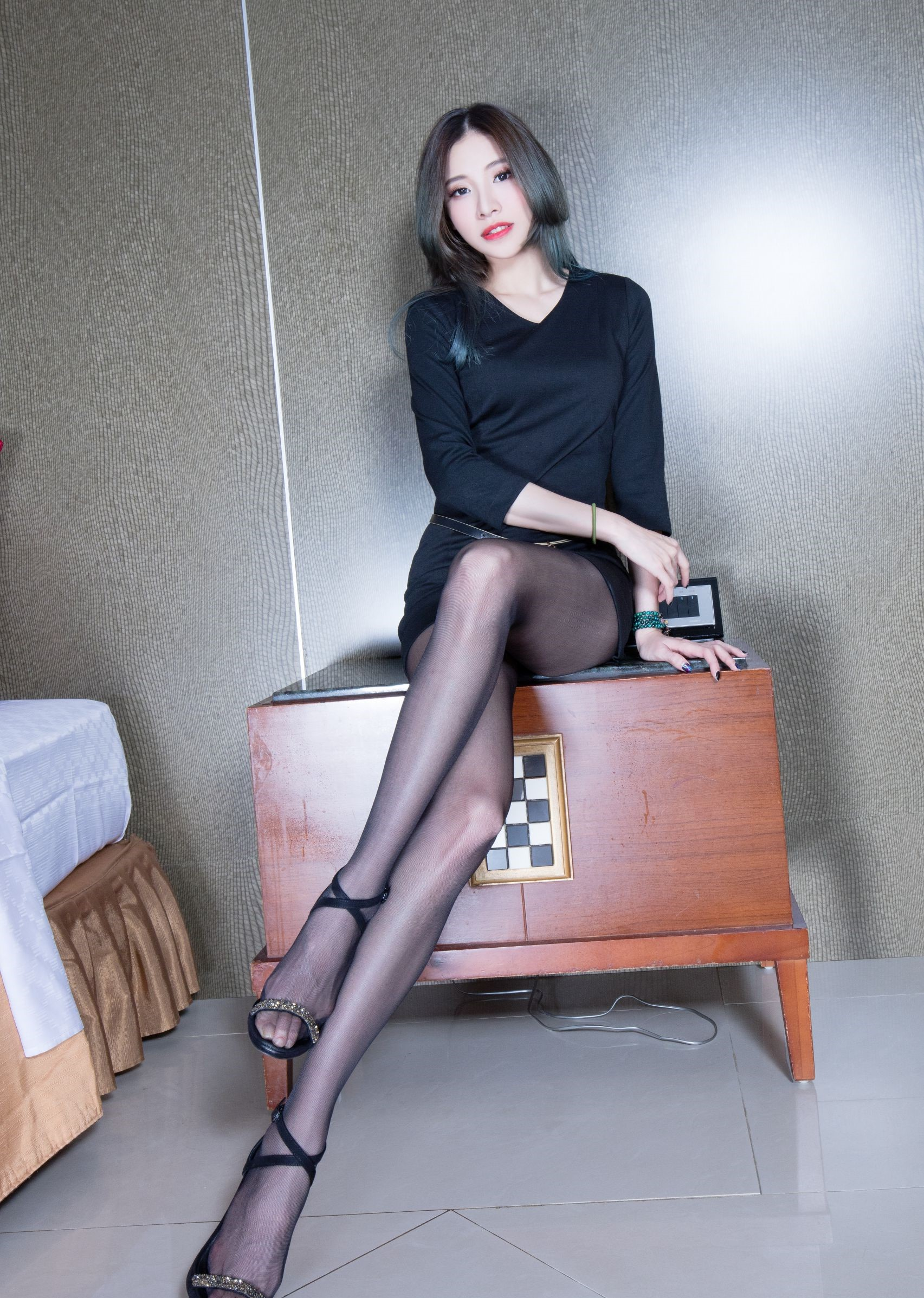 abbyの黒パンスト美脚 21