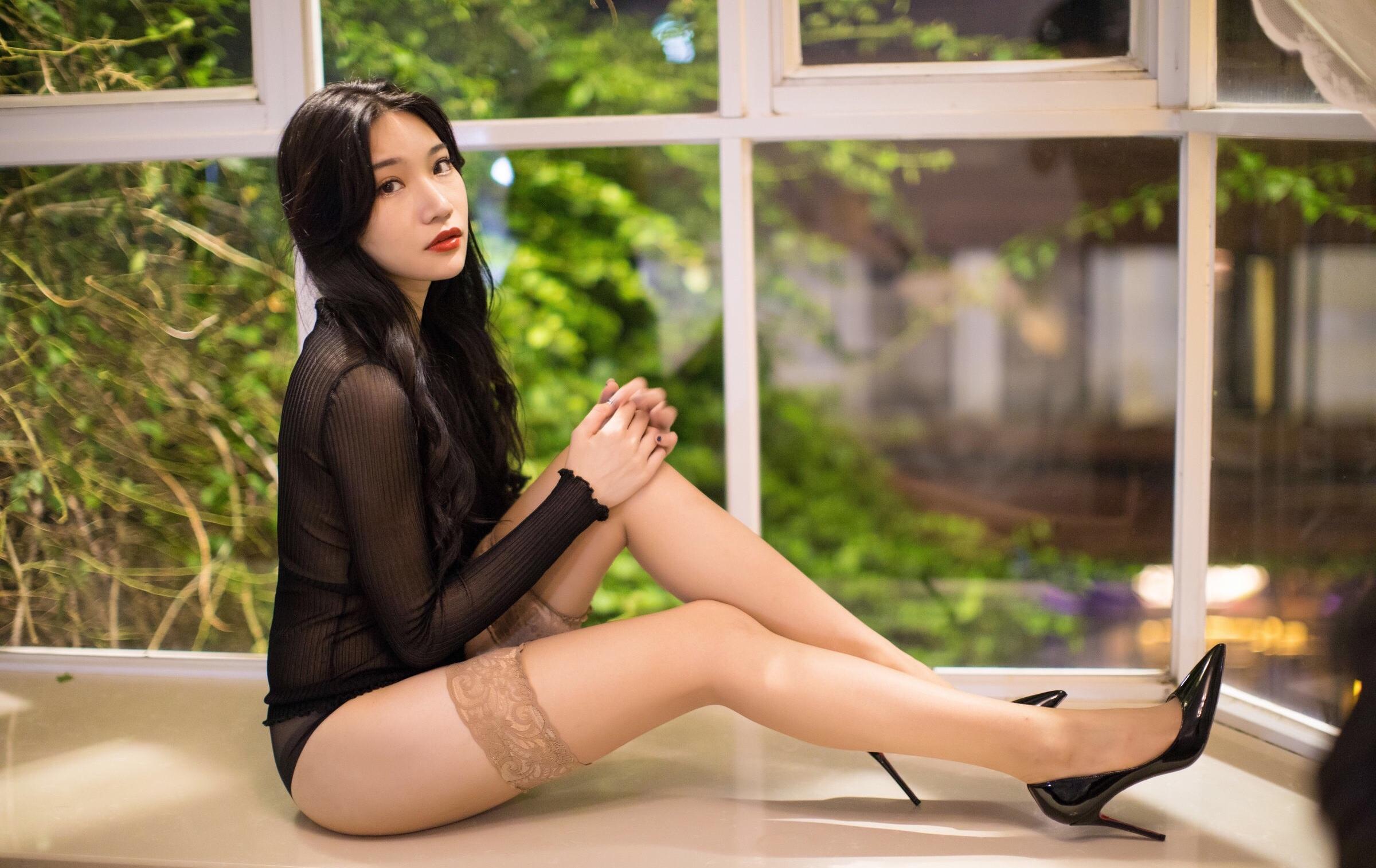 小狐狸Sica肉色丝袜美腿 2