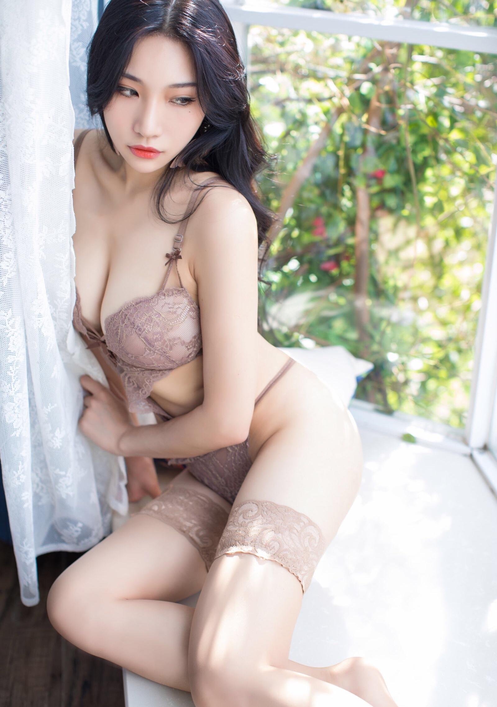 台湾美女ランジェリー美脚エロ画像-No.24-(36pics)