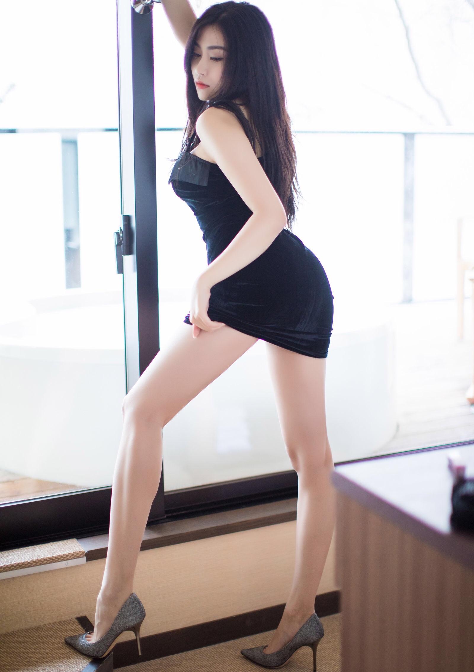 Xu Nuoのセクシーワンピ 9