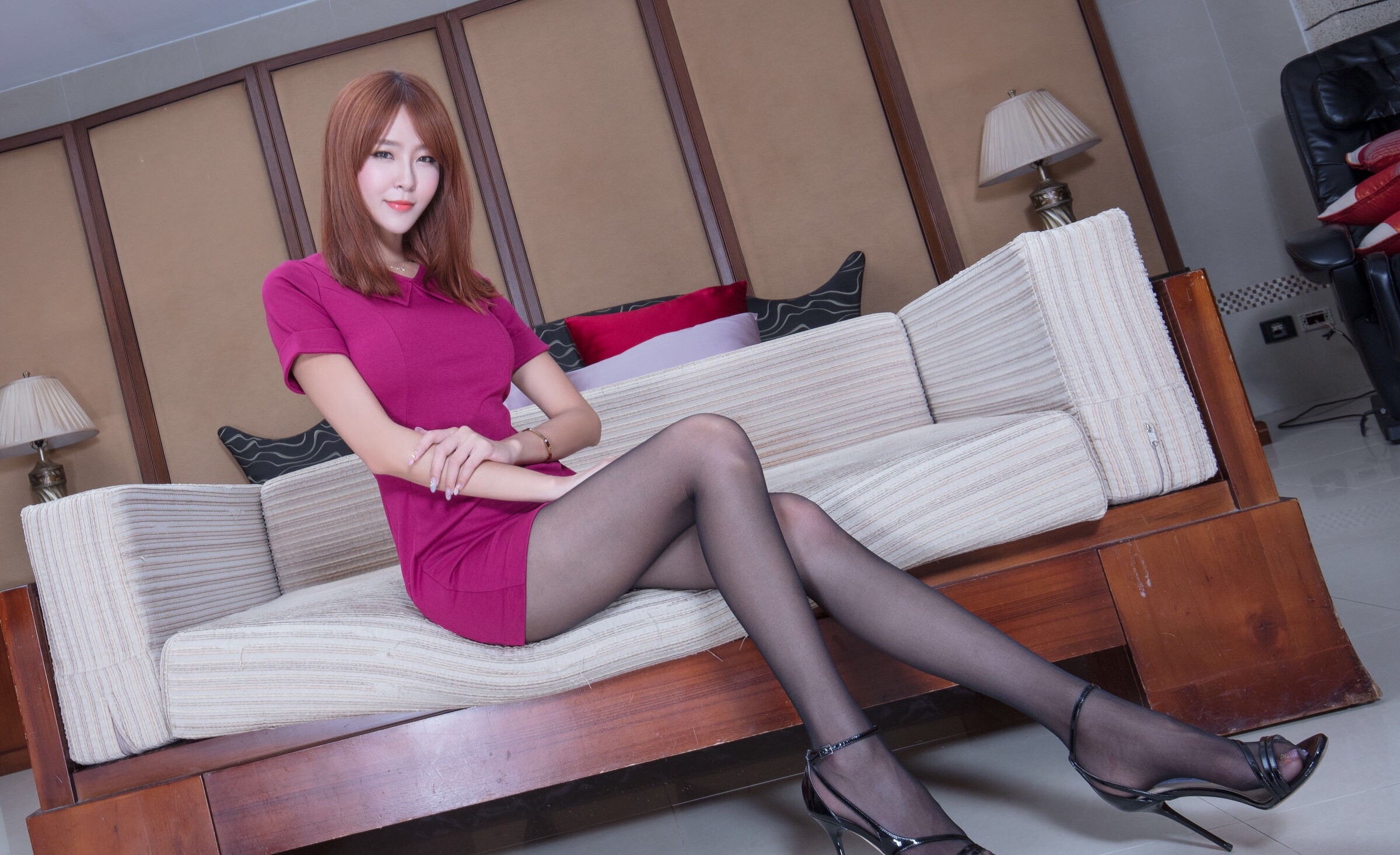 Winnie小雪(黑丝) 12