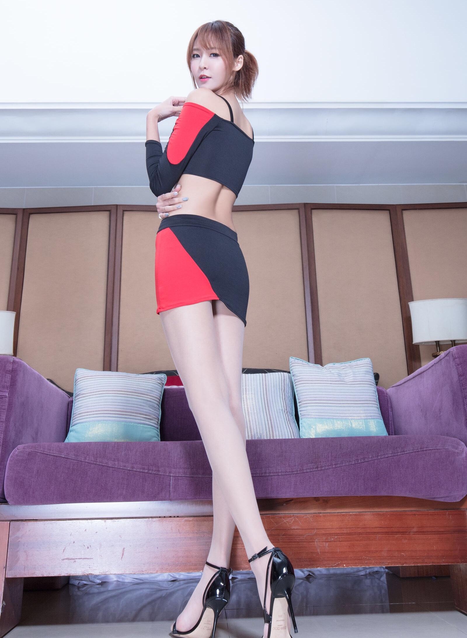 beautyleg model winnie racing model cosplay 13