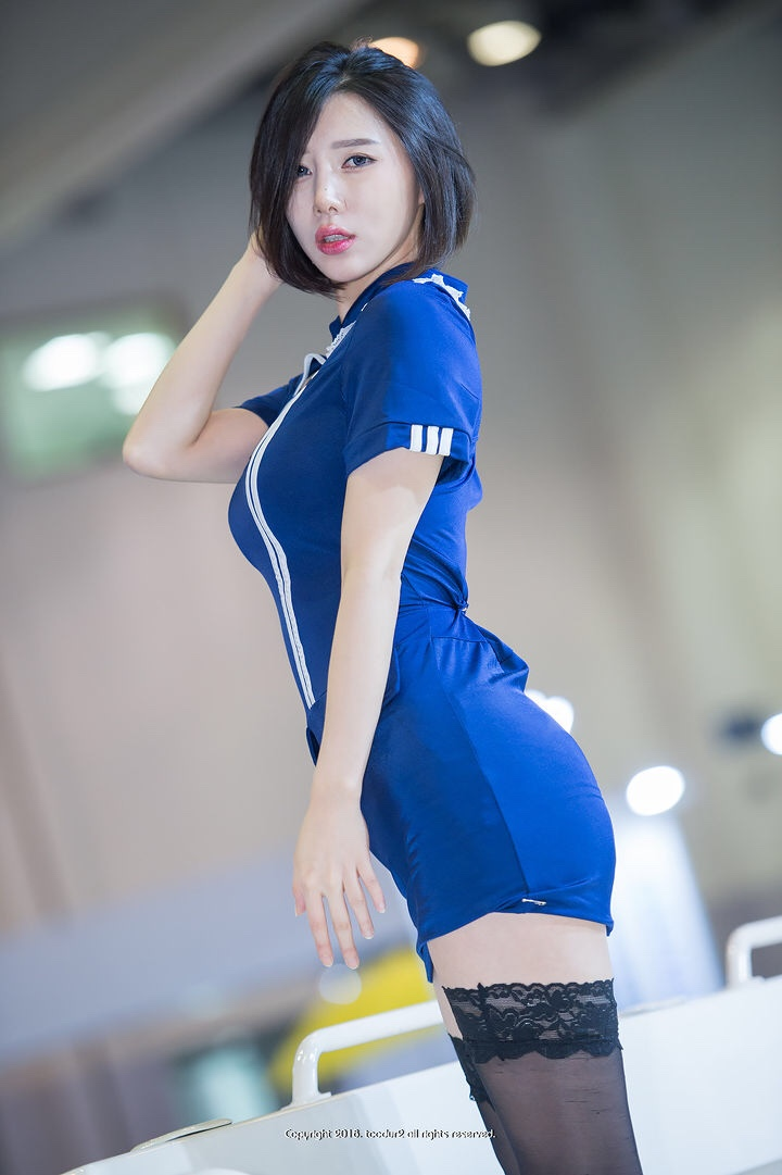 hot korean racing model song jooa