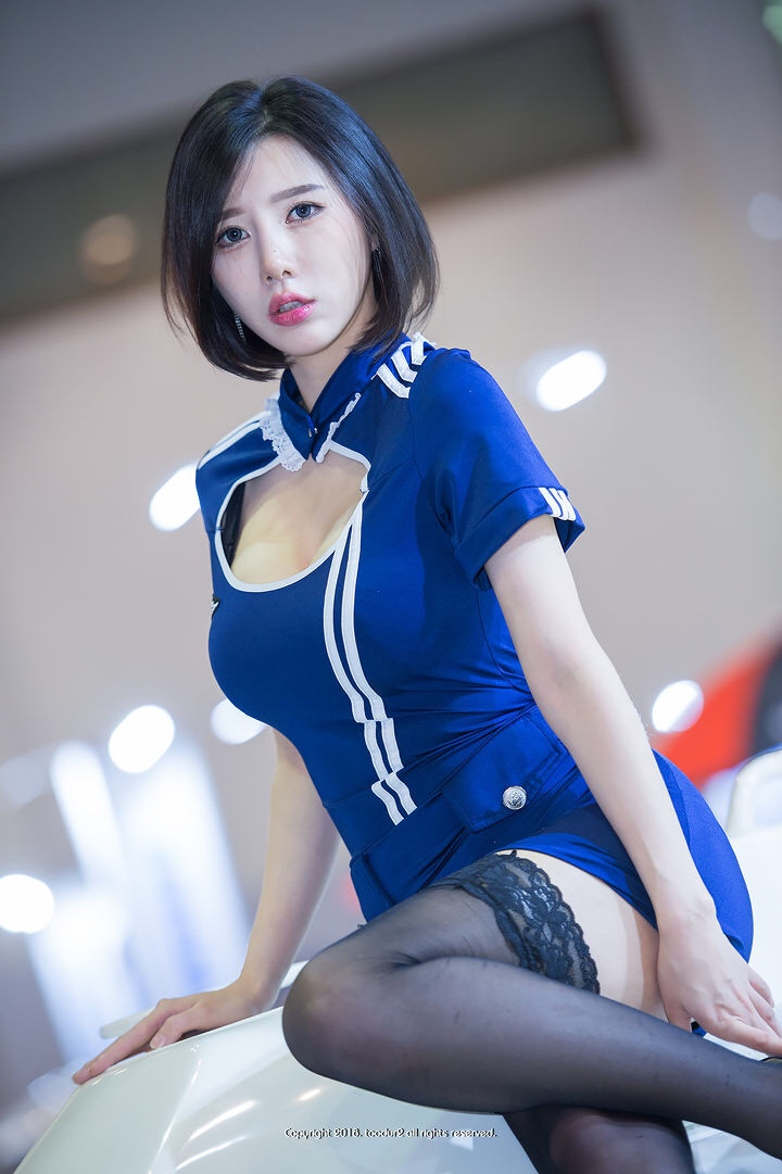 hot korean racing model song jooa 7