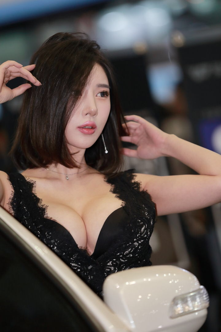 hot korean racing model song jooa 17