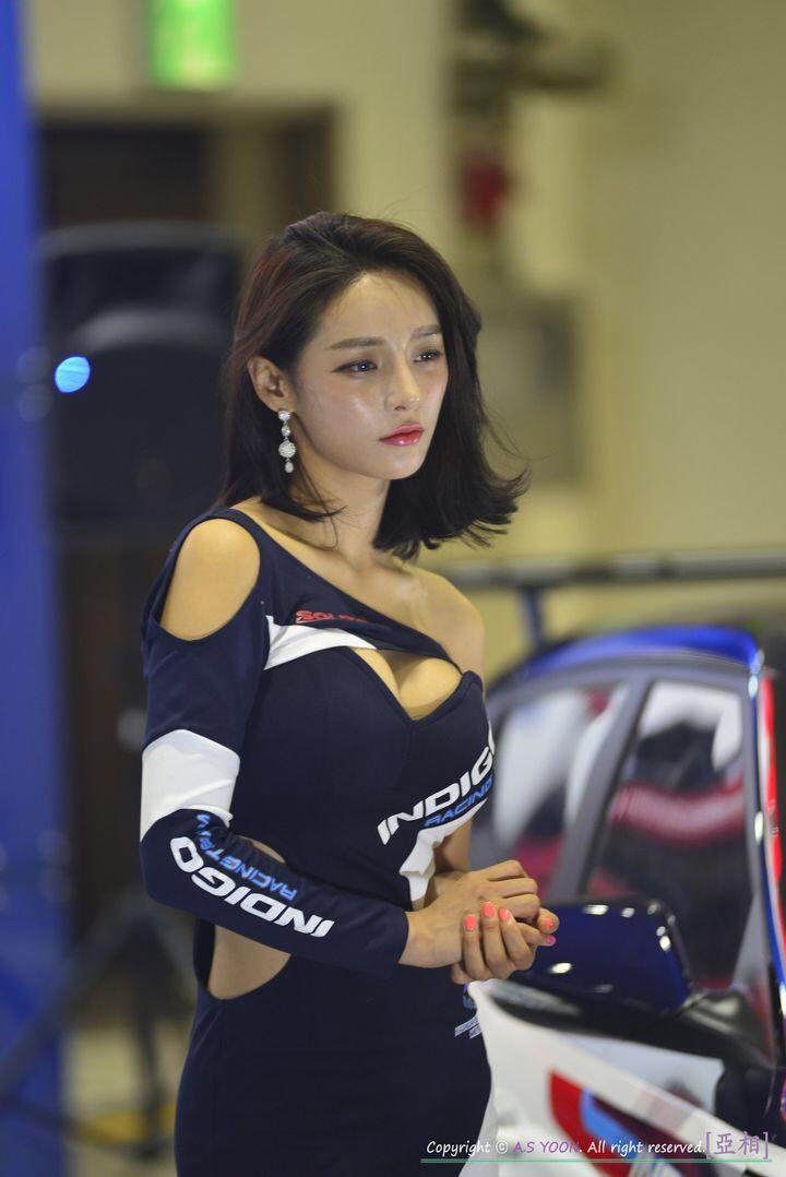 korean racing model seo yeon 16