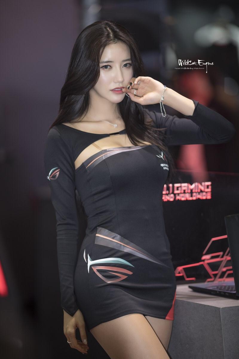 韓国のレースクイーンIm sola 4