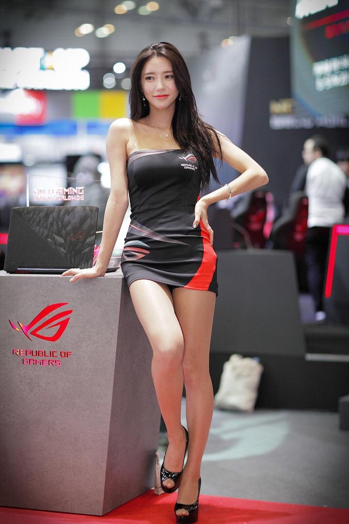 韓国のレースクイーンIm sola 22