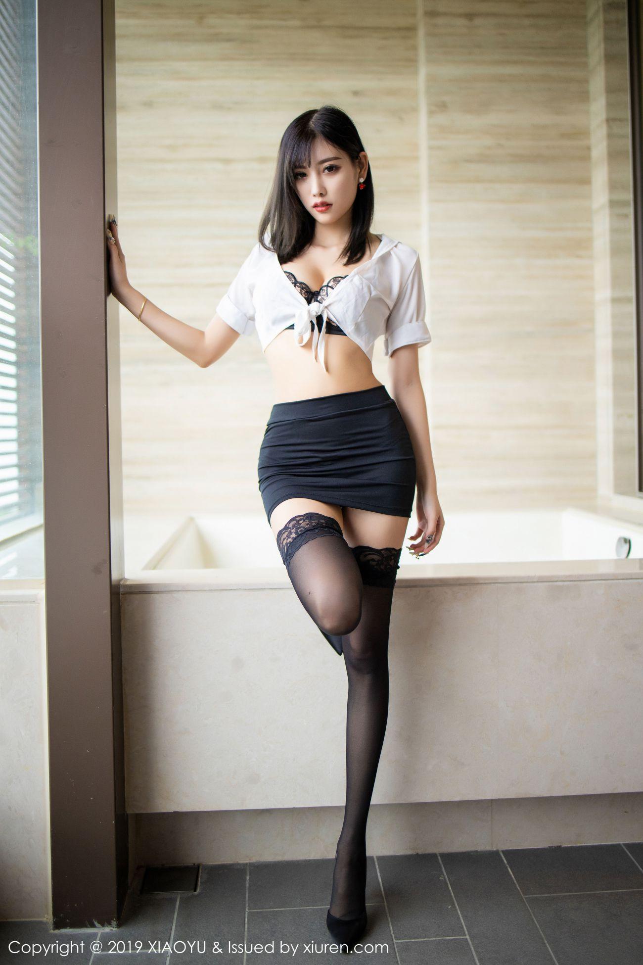 杨晨晨sugar - 白衬衫与魅惑黑丝袜 6