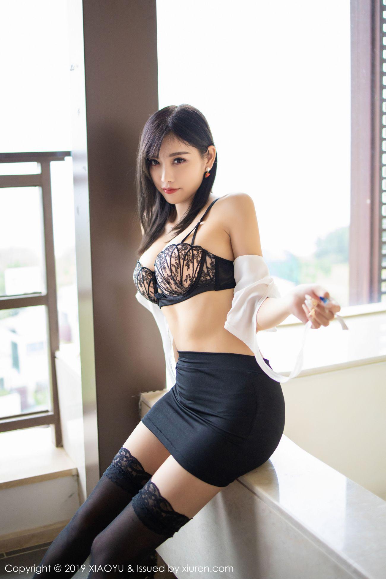 杨晨晨sugar - 白衬衫与魅惑黑丝袜 14